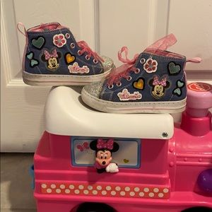2 / $12 Minnie Mouse High tops